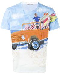 Moncler | Baywatchers Print T-shirt | Lyst