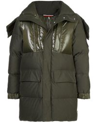 Moncler - Padded Jacket With High Shine Panels - Lyst