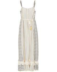 lemlem - Ami Fringe Maxi Dress - Lyst