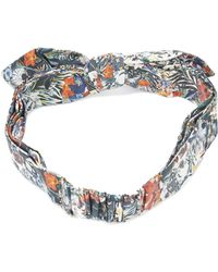 Maison Michel - Printed Hairband - Lyst