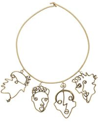 Rosie Assoulin - Four Faces Necklace - Lyst