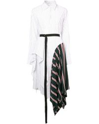 TOME - Asymmetric Shirt Dress - Lyst