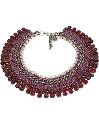 Venessa Arizaga - 'sangria Sunrise' Necklace - Lyst