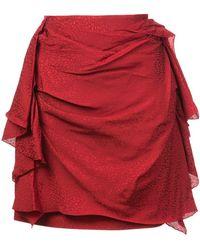 Carmen March - Draped Mini Skirt - Lyst