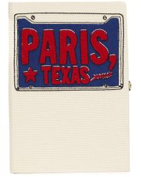 Olympia Le-Tan - 'paris Texas' Book Clutch - Lyst