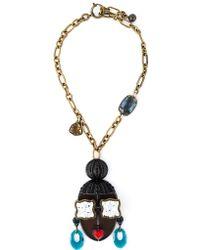 Lanvin - 'zandro Hairdo' Necklace - Lyst