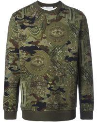 Givenchy - Camouflage Print Sweatshirt - Lyst