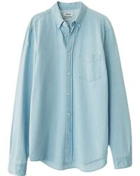 f92204746b Lyst - Acne Studios Isherwood Denim Shirt in Blue for Men