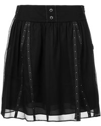 COACH - Lace Layered Skirt - Lyst