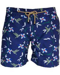 Thorsun - Floral Print Swim Shorts - Lyst