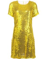 Galvan London - Clara Sequin Dress - Lyst
