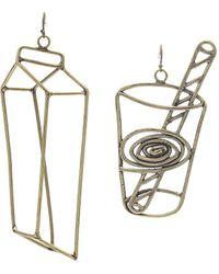 Rosie Assoulin - Milkglass Earring Set - Lyst