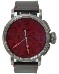 653368f1a Bamford Watch Department - Red Zenith Type 20 Chrono 'ton Up' - Lyst