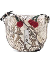 Altuzarra - Ghianda Saddle Mini Bag - Lyst
