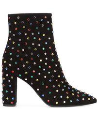 Saint Laurent - Betty 95 Ankle Boots - Lyst
