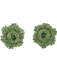 Rebecca de Ravenel - Emerald Ava Earrings - Lyst