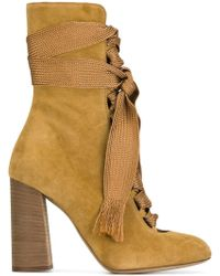 Chloé - Chloé 'harper' Ankle Boots - Lyst