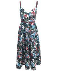 Saloni - The Webster X Lane Crawford Fara Dress - Lyst