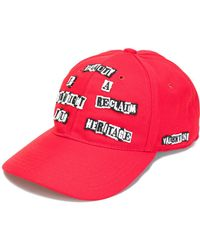 """Valentino - """"beauty Is A Birthright Reclaim Your Heritage"""" Cap - Lyst"""