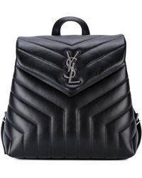 Saint Laurent - Loulou Quilted Leather Backpack - Lyst