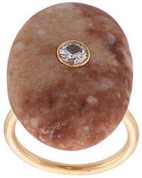 CVC Stones - Imperial Topaz And Diamond Ring - Lyst