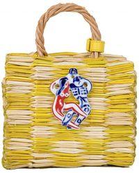 Heimat Atlantica - Yellow Mini Tom Tom Bag - Lyst