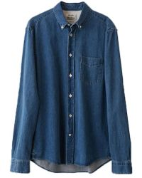 3ef1c91747e Lyst - Acne Studios  isherwood  Denim Shirt in Blue for Men