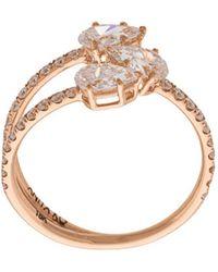 Anita Ko - Three-stone Claw Ring - Lyst