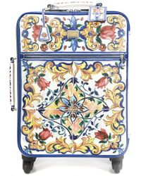 Dolce & Gabbana - Majolica Print Trolley - Lyst