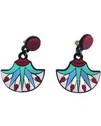 Yazbukey - Kiss My Lotus Earrings - Lyst