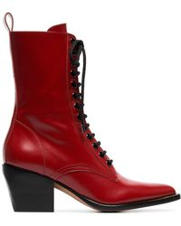 Chloé - Rylee Boots - Lyst