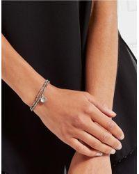 The White Company - Crystal Bead Tassel Bracelet - Lyst