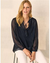 The White Company - Sparkle Blouse - Lyst