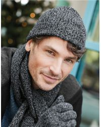 The White Company - Men's Cashmere Beanie Hat - Lyst