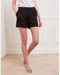 The White Company - Linen Pocket Detail Shorts - Lyst