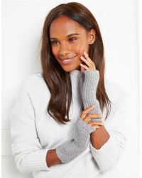 The White Company - Cashmere Ribbed Wrist Warmers - Lyst