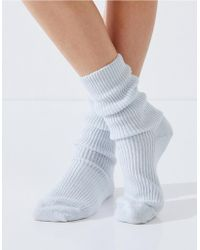 The White Company | Cashmere Bed Socks | Lyst