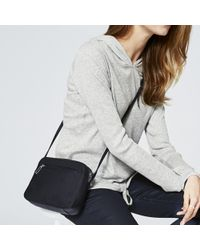 The White Company - The Double Zip Crossbody Bag - Lyst