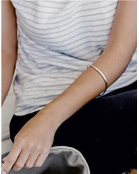 The White Company - Sterling Silver Bangle - Lyst