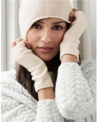 The White Company - Cashmere Classic Wrist Warmers - Lyst