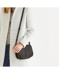 The White Company - Calf-hair Leather Crescent Bag - Lyst