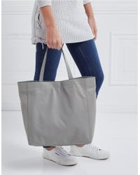 The White Company - Leather Everyday Tote Bag - Lyst