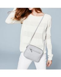 The White Company - The Double Zip Crossbody - Lyst