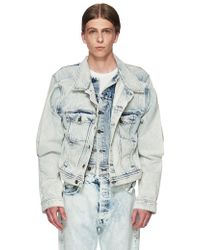 Y. Project - Double Front Denim Jacket - Lyst