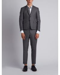 Thom Browne - Classic Plain Weave Suit In Super 120s Wool - Lyst