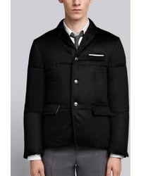 Thom Browne - Down Cashmere Sport Coat - Lyst