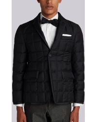 Thom Browne - Quilted Down Super 130s Sport Coat - Lyst