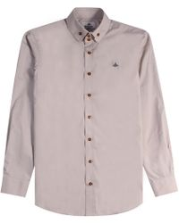 Vivienne Westwood - Two Button Krall Shirt Beige - Lyst