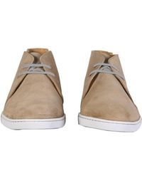Y-3 - Fred Perry Todd Suede Desert Boots - Lyst