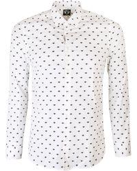 KENZO - Mini Eyes Shirt White - Lyst